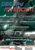 Flyer Deejay Invention (back)