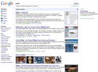 Neues Google Design Suchergebnisseite